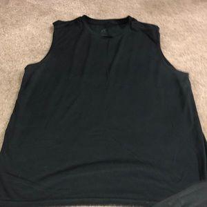 Champion black sleeveless shirt